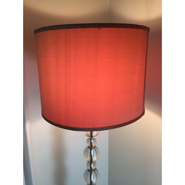 Mid-Century Crystal Floor Lamp - Image 2 of 6