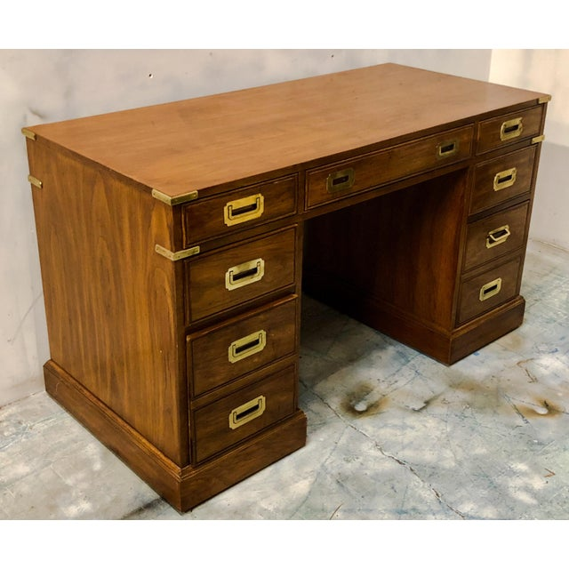 National Mt Airy Campaign Style Desk Image 7 Of