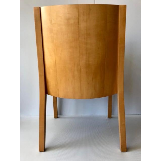 Ward Bennett 1980s Vintage Ward Bennett Side Chair For Sale - Image 4 of 9