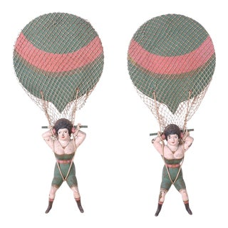 Naughty Nellies Riding Balloons - A Pair For Sale