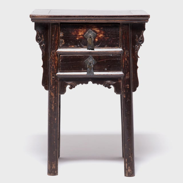 For over 150 years, through many turbulent years of Chinese history, this pair of petite cabinets has remained together....
