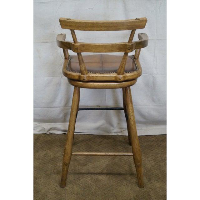 Jonathan Charles Architect's Arm Chair - Image 4 of 10