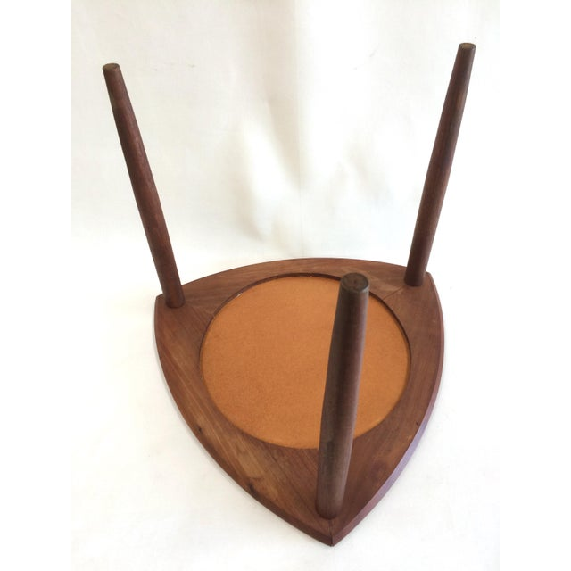 Danish Modern Accent Table - Image 6 of 6