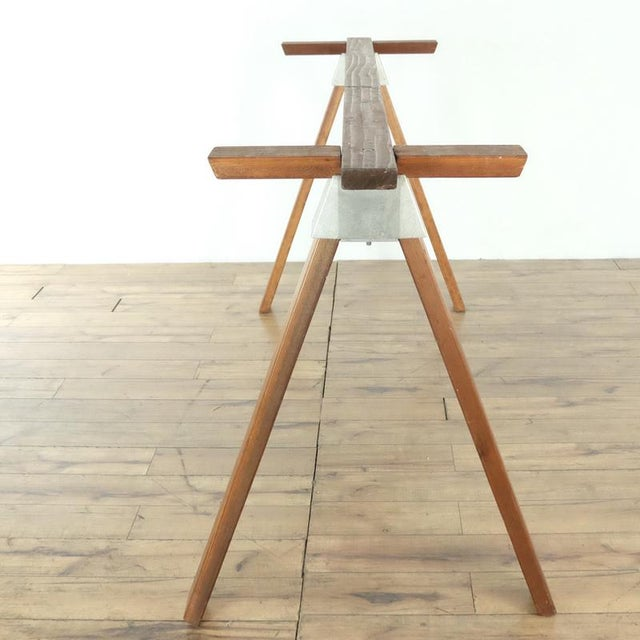 Contemporary Contemporary Henry Wilson Standing Desk Base For Sale - Image 3 of 7