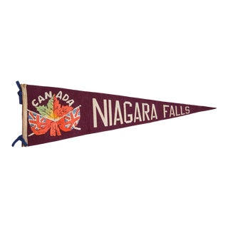Niagara Falls Felt Flag For Sale