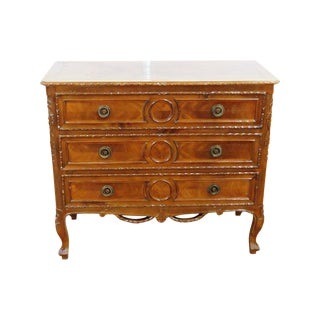 19thC French Louis XV Style Commode