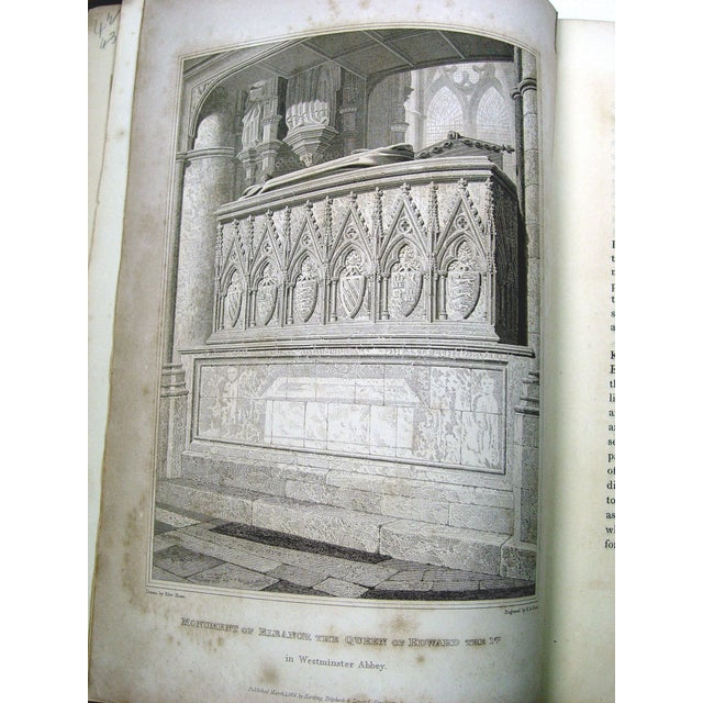Monuments & Sepulchres of England Book, 1826 - Image 7 of 10