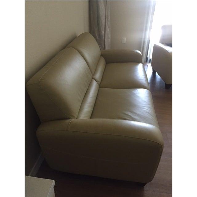 Italsofa Leather Sofa - Image 3 of 3