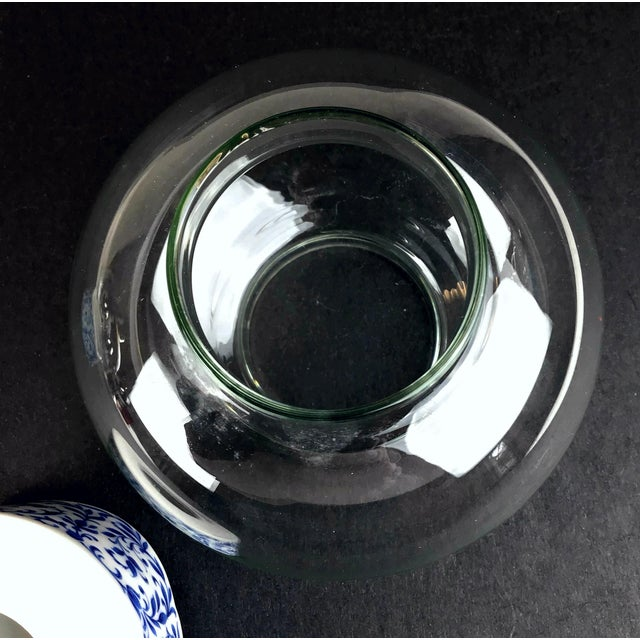 1970s West Germany Candle Holder With Glass Dome - a Pair For Sale - Image 10 of 13