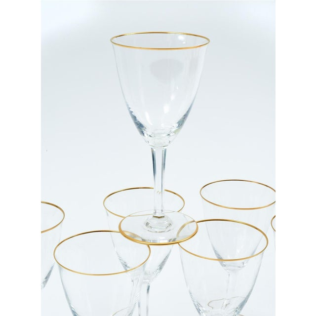 Baccarat Crystal Barware / Tableware Glassware - Set for 8 For Sale - Image 9 of 11