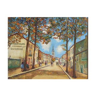 View of Montmartre, Paris, C. 1965 For Sale