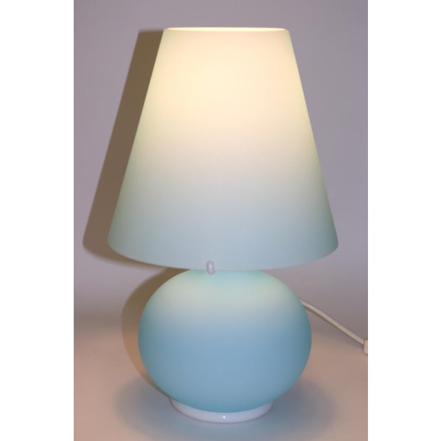 """Paralume"" Murano Due Mid-Century Modern Glass Table Lamp For Sale - Image 9 of 13"