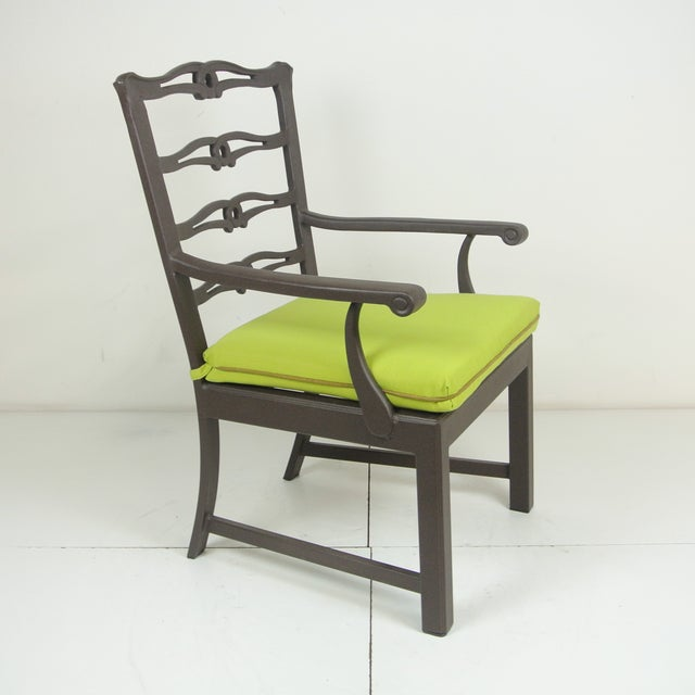 Arlington Dining Chair & Custom Fit Cushion For Sale - Image 9 of 9