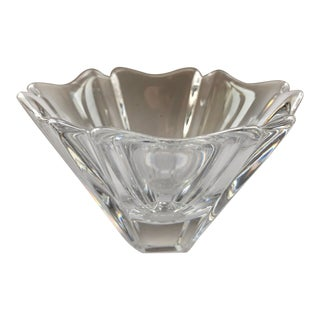 "Orrefors ""Orion"" Crystal Bowl For Sale"
