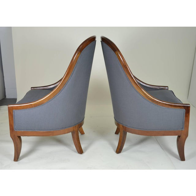 Spoon Back Chairs by Baker Furniture - Image 5 of 9