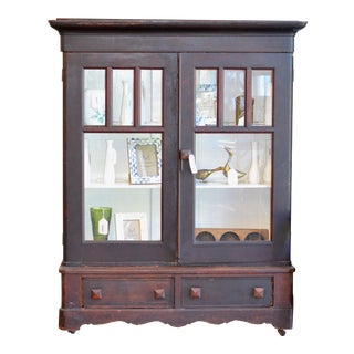 Vintage 1830's Supply Cabinet For Sale