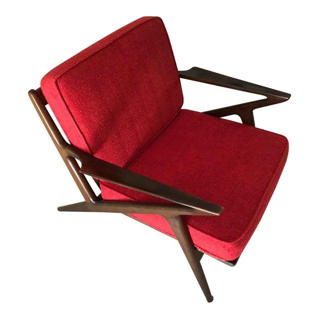 Selig Danish Modern Z Chair - Image 1 of 8