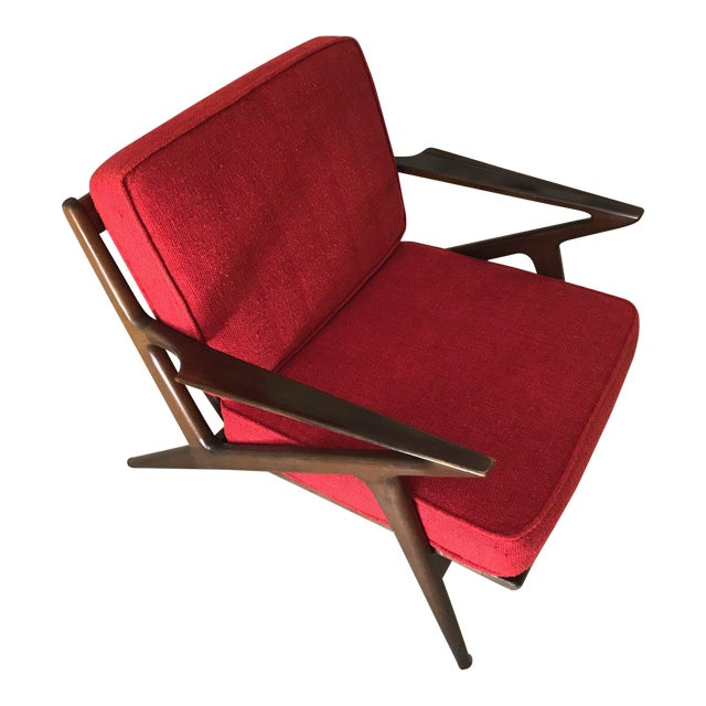 Selig Danish Modern Z Chair For Sale