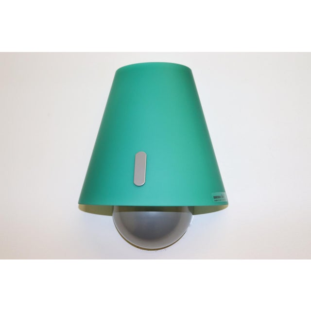 Mid-Century Modern Murano Green Glass Wall Lamp For Sale - Image 10 of 12