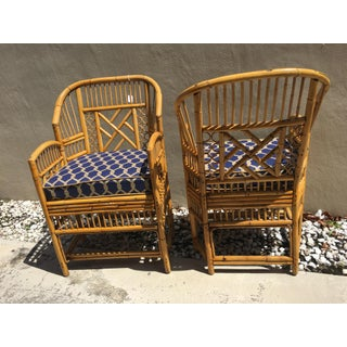 1970s Brighton Bamboo Armchairs - a Pair Preview