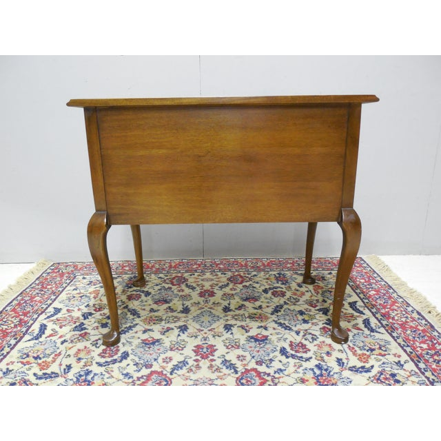 Century Furniture Henry Ford Museum Mahogany Chippendale Style Low Boy Chest - Image 11 of 11