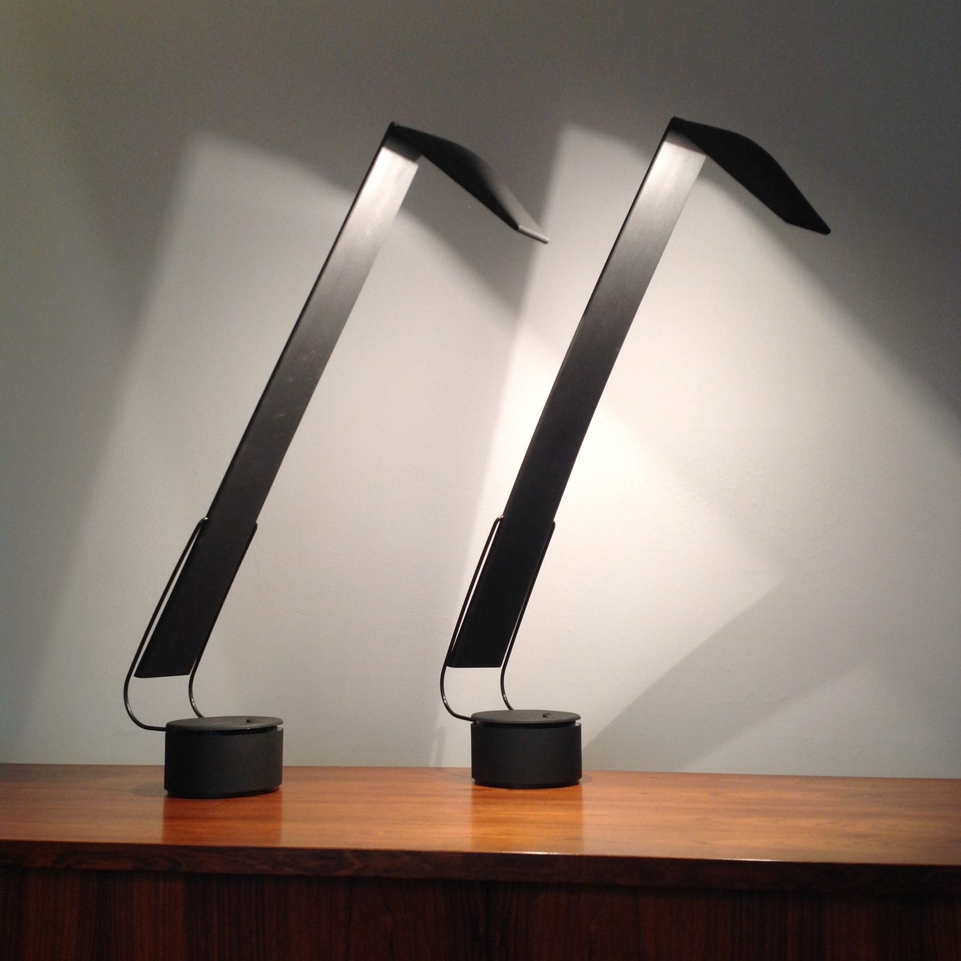 Mario Barbaglia U0026 Marco Colombo For Paf Studio Dove Lamps   Pair   Image 2  Of