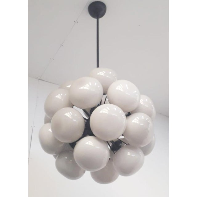 Not Yet Made - Made To Order Ventiquattro Sputnik Chandelier by Fabio Ltd For Sale - Image 5 of 8