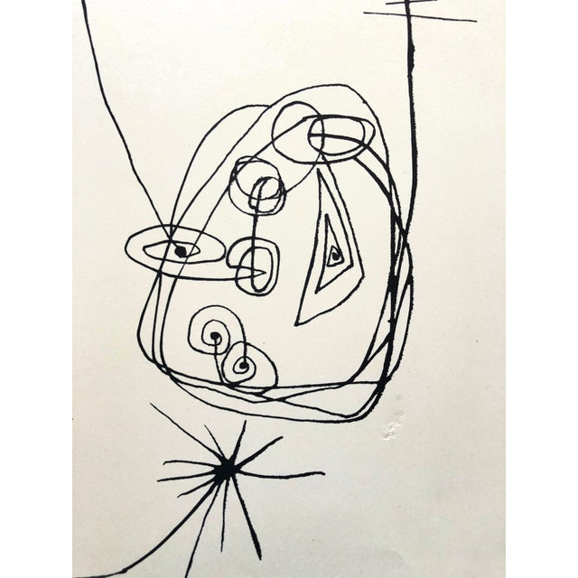 Jerry Opper 1940-50s Abstract Line Print For Sale In New York - Image 6 of 7