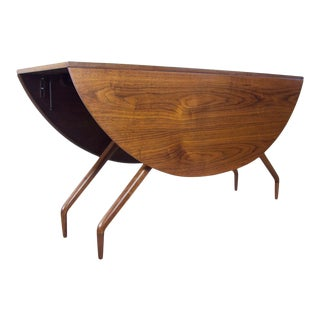 """Walnut """"Spider"""" Dining Table by Ed Frank for Glenn of California For Sale"""