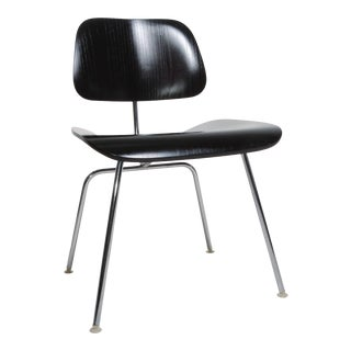 Black Eames Dcm Chairs For Sale