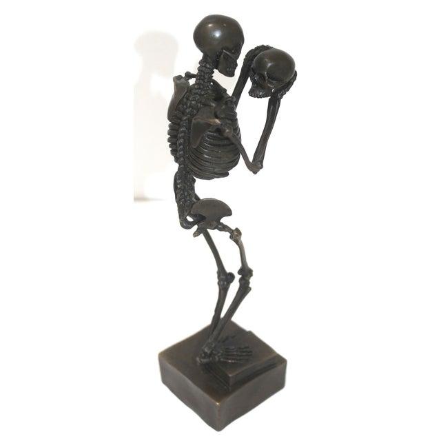 Vintage Carl Kauba Style Bronze Figure For Sale - Image 10 of 13