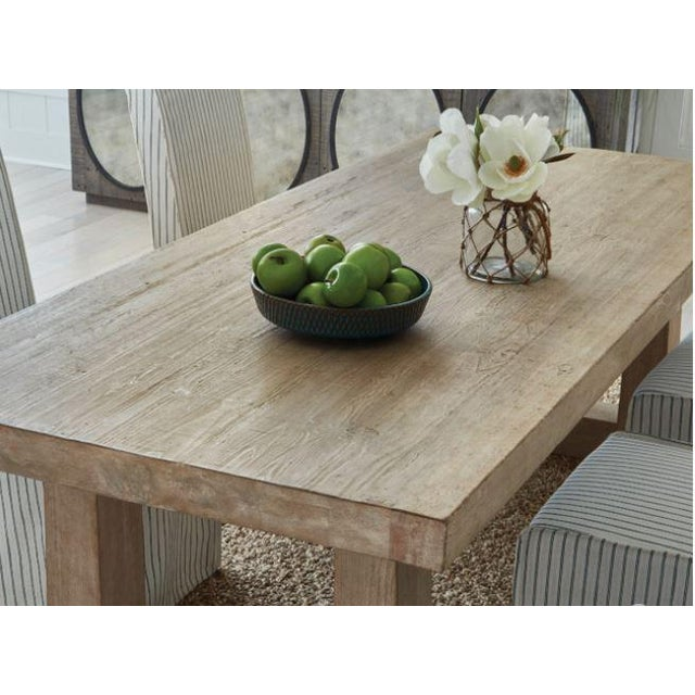"""2020s Palmer 94"""" Dining Table For Sale - Image 5 of 6"""