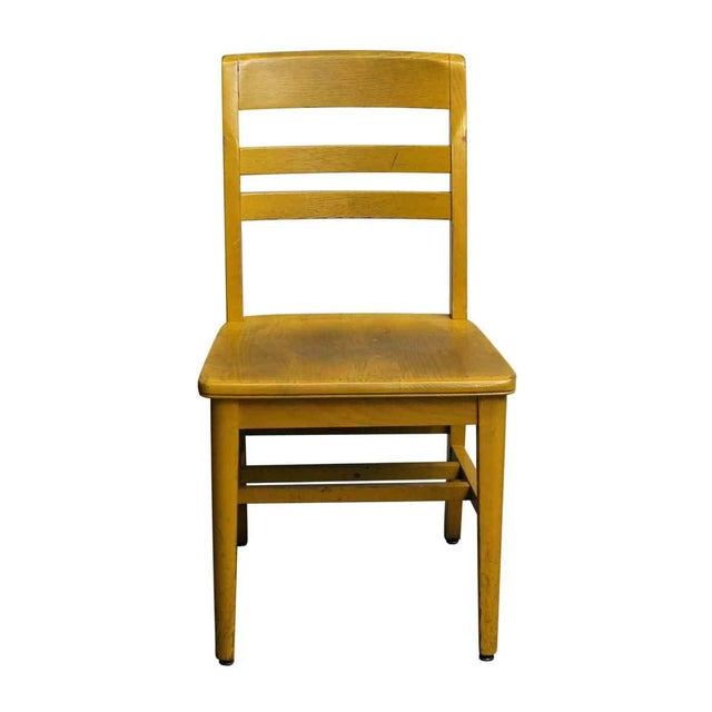 Wooden School Chair - Image 2 of 7