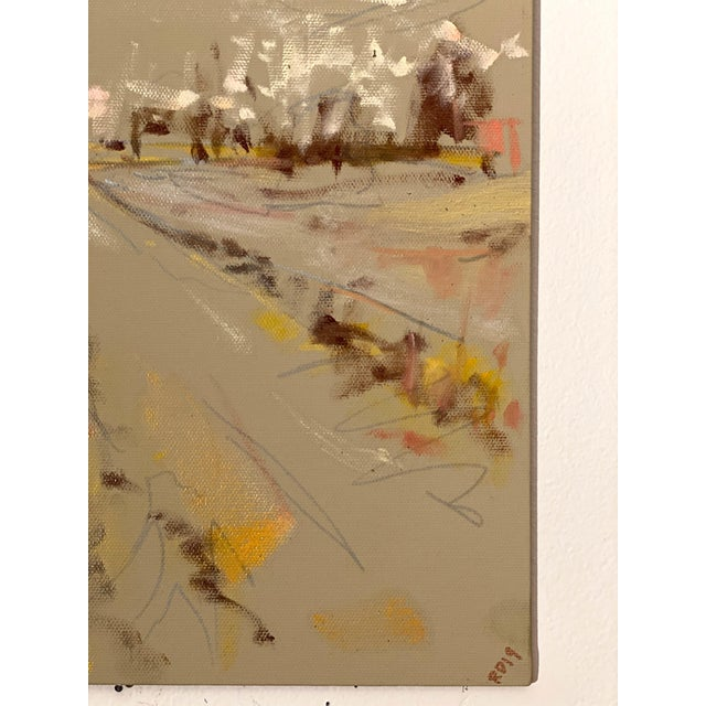 2010s Abstract Expressionist Original Oil Painting by Rebecca Dvorak – Upper Shirley Fields, 1 of 3 For Sale - Image 5 of 7