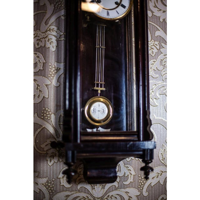 19th-Century Louis Philippe Wall Clock For Sale - Image 6 of 10