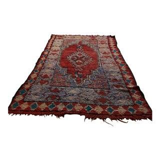 """Vintage Moroccan Boujad Rug - 5'9"""" x 9'3"""""""