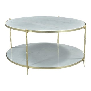 Manhattan Marble Coffee Table For Sale