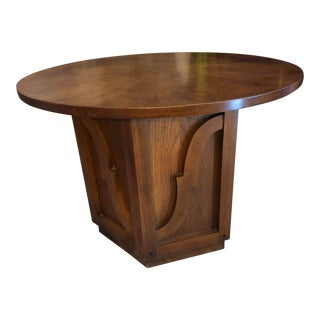 Mid-Century Modern Drexel Walnut Coffee Table For Sale