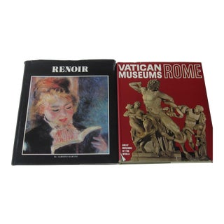 Pierre-Auguste Renoir Art Reference Books - Set of 2