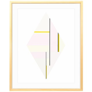 "Ilya Bolotowsky ""Diamond 3"" (1979) Framed Print"