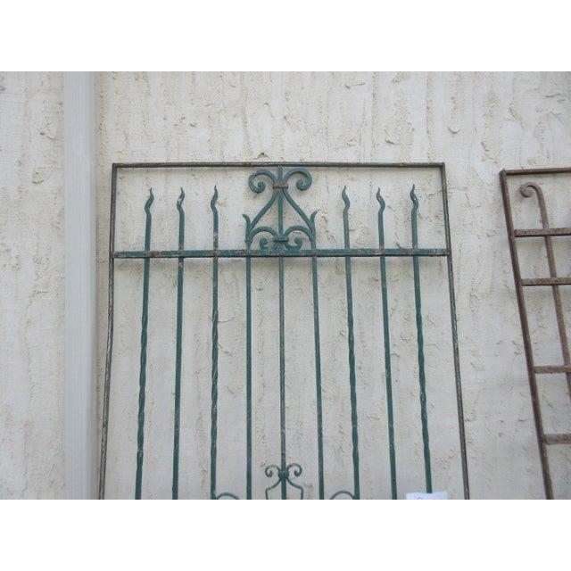Antique Victorian Iron Gate - Image 7 of 8