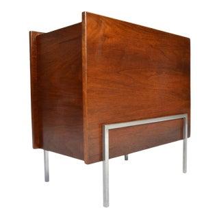 Bauhaus Magazine Bin After Ludwig Mies Van Der Rohe For Sale