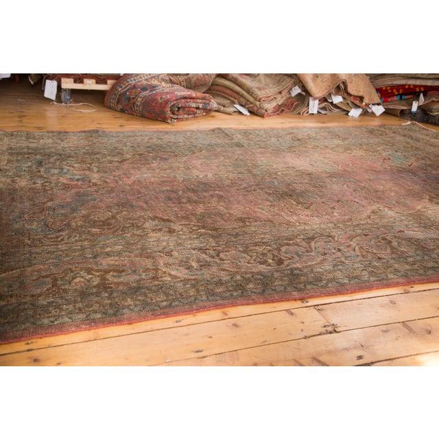 """Vintage Meshed Carpet - 7'3"""" x 12'6"""" - Image 9 of 9"""