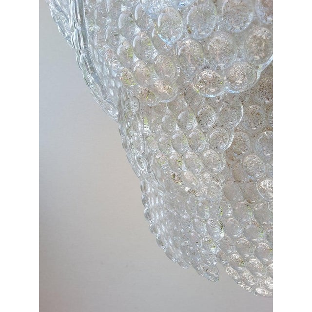 Vintage Murano Glass Ball Room Chandelier For Sale - Image 6 of 12