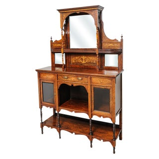Edwardian cabinet For Sale