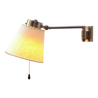 Pair of Swing Arm Wall Lamps From Bag Turgi, Switzerland, 1930s For Sale
