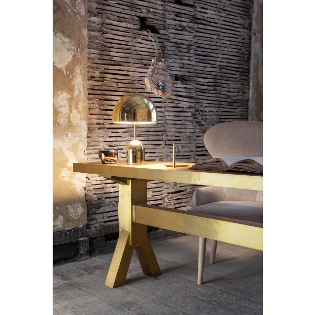 Not Yet Made - Made To Order Tom Dixon Bell Table Light Brass For Sale - Image 5 of 6