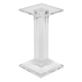 French Mid-Century Lucite Pedestal