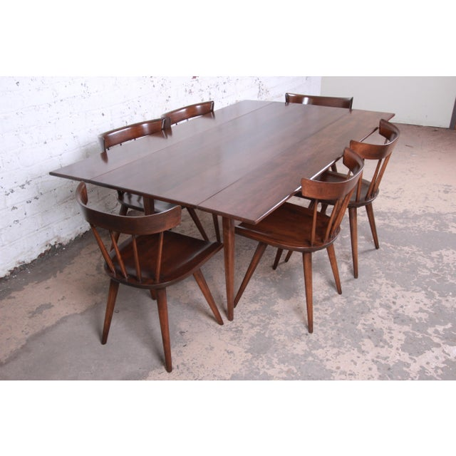 1950s Paul McCobb Planner Group Mid-Century Modern Dining Set, Newly Restored For Sale - Image 5 of 13