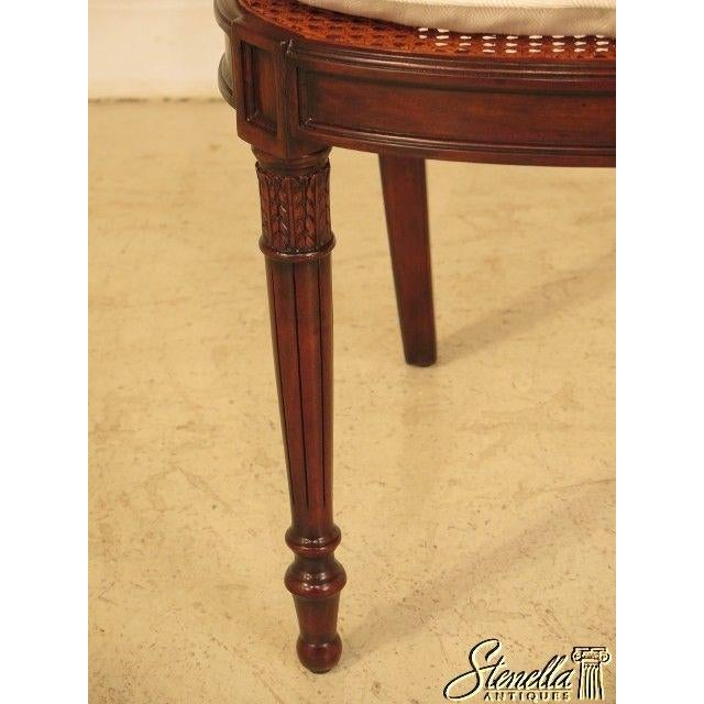 Theodore Alexander Theodore Alexander Pair Regency Mahogany Arm Chairs #4100-236 For Sale - Image 4 of 11